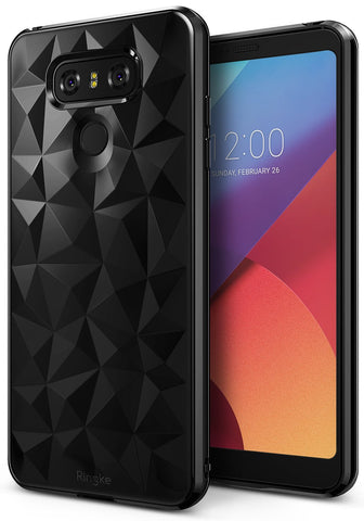 LG G6 Case, Ringke®[AIR PRISM] 3D Contemporary Design Slim Flexible TPU Protective Case