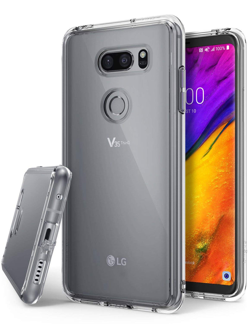 lg v35 thinq fusion case clear