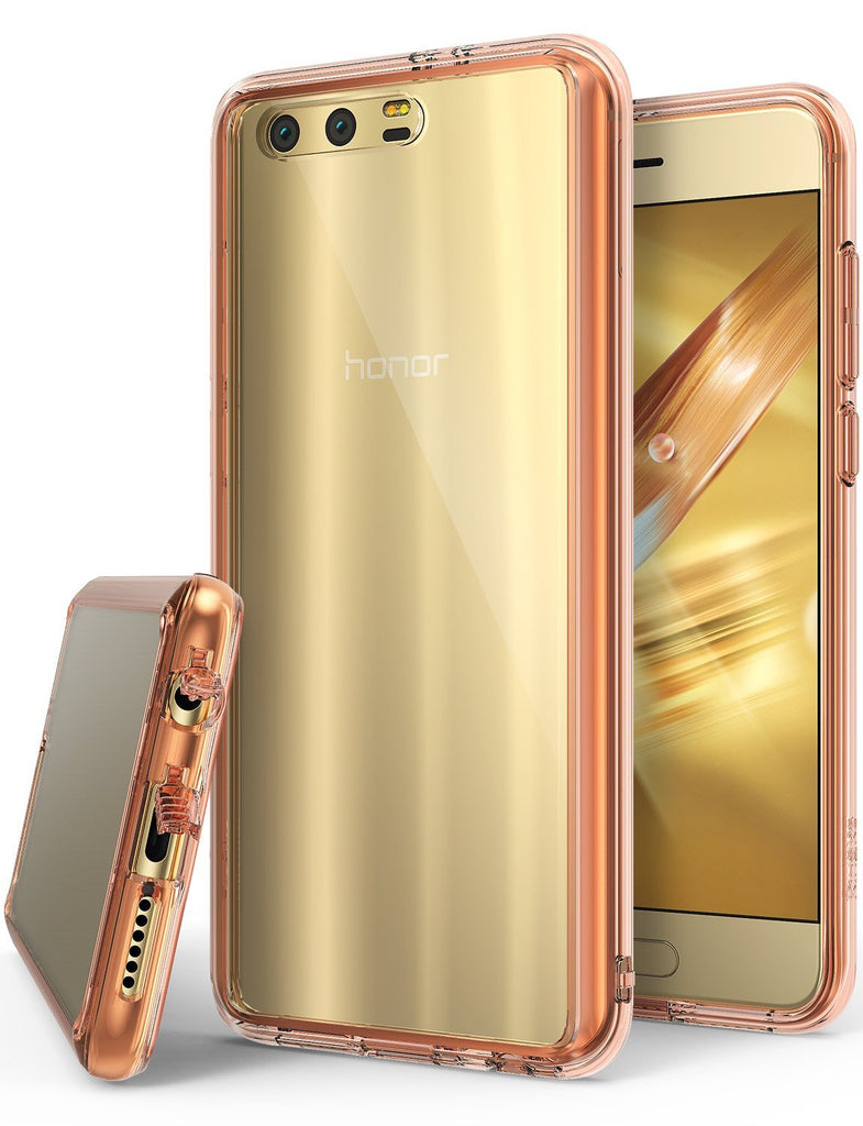 huawei honor 9 ringke fusion case case rose gold crystal