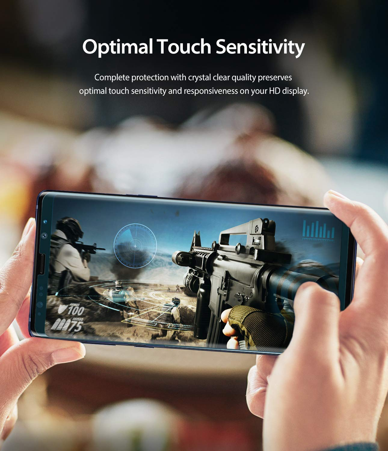 optimal touch sensitivity