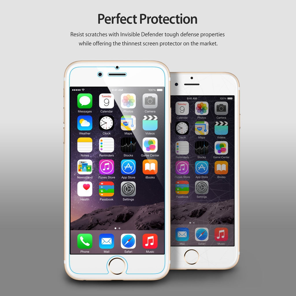 ringke invisible defender screen protector film for iphone 6 plus 6s plus