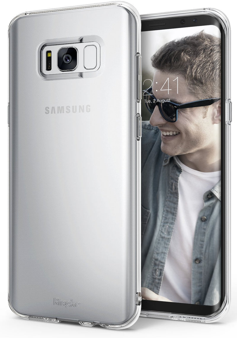 Samsung Galaxy S8 Case, Ringke® [AIR] Extreme Lightweight & Thin Transparent Soft Flexible TPU Case