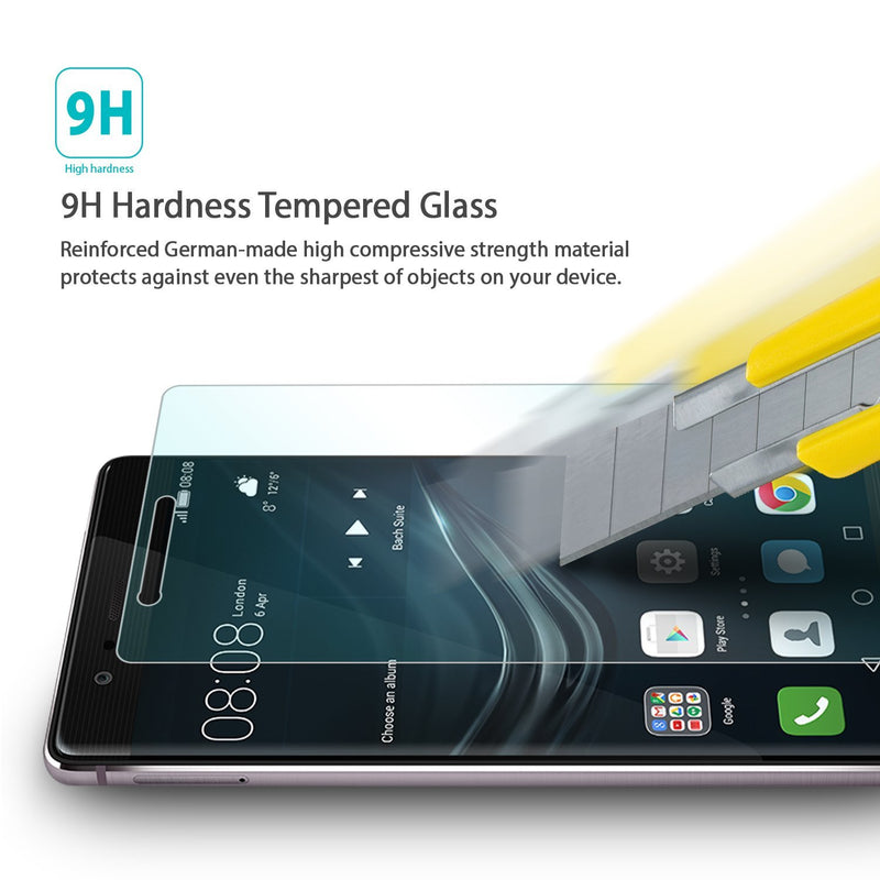 Huawei P9, Ringke® [INVISIBLE DEFENDER] [0.33mm] Tempered Glass Screen Protector