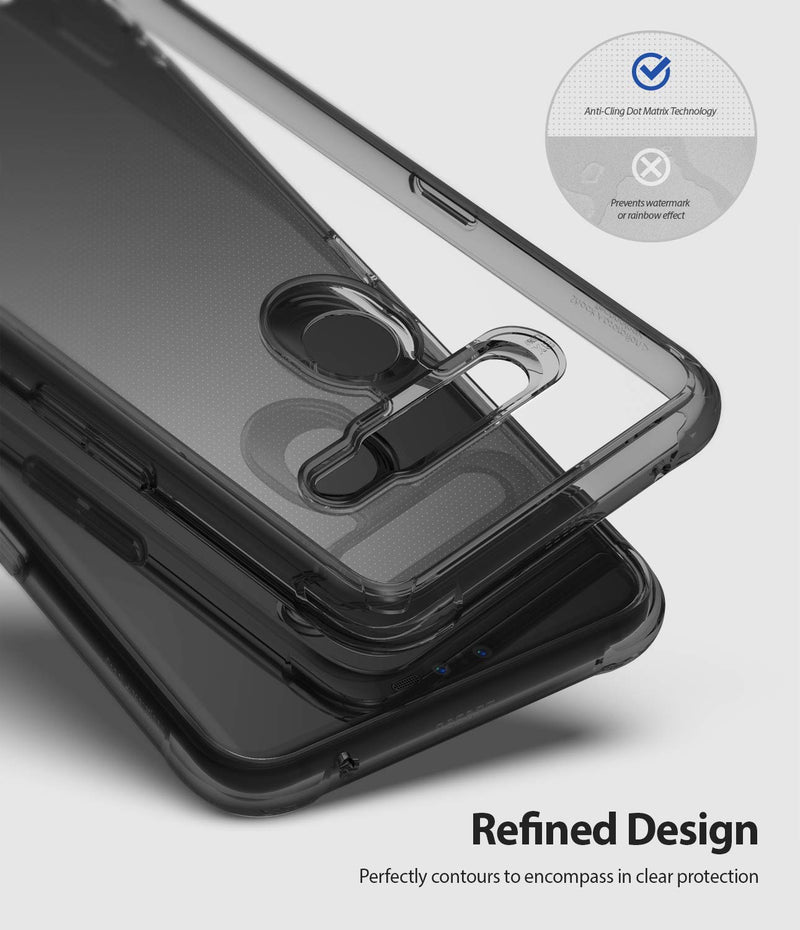 "Ringke Fusion Designed for LG V50 ThinQ 5G Case Protective Cover 6.4"" (2019) - Smoke Black"