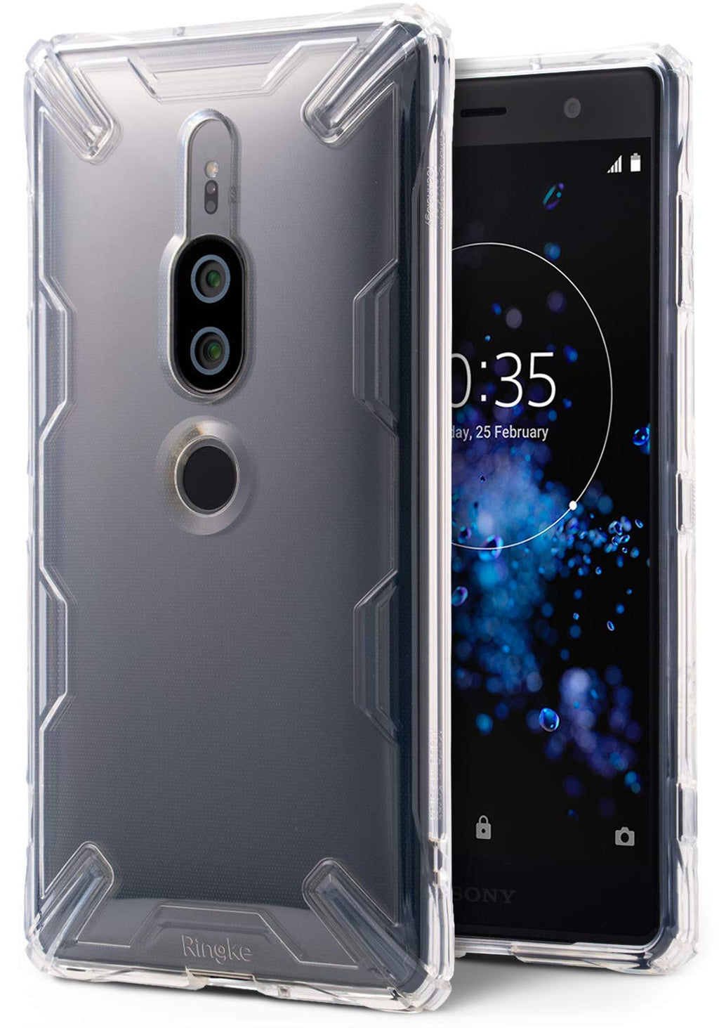 xperia xz2 premium air case x clear