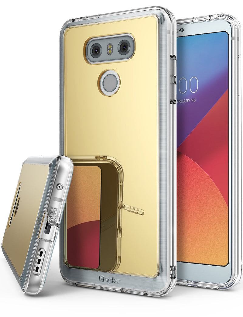 LG G6 Case, Ringke® [FUSION MIRROR] Bright Reflection Radiant Luxury Mirror Case