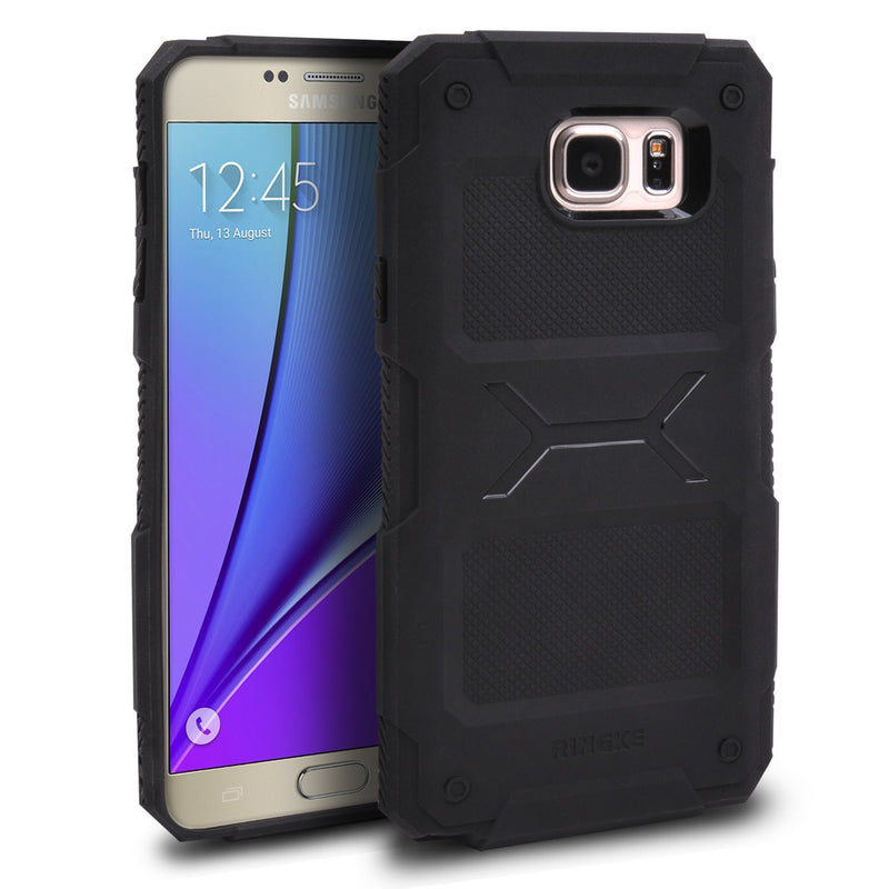 Galaxy Note 5 Case, Ringke® [REBEL] Flexible Durability and TPU Defensive Case
