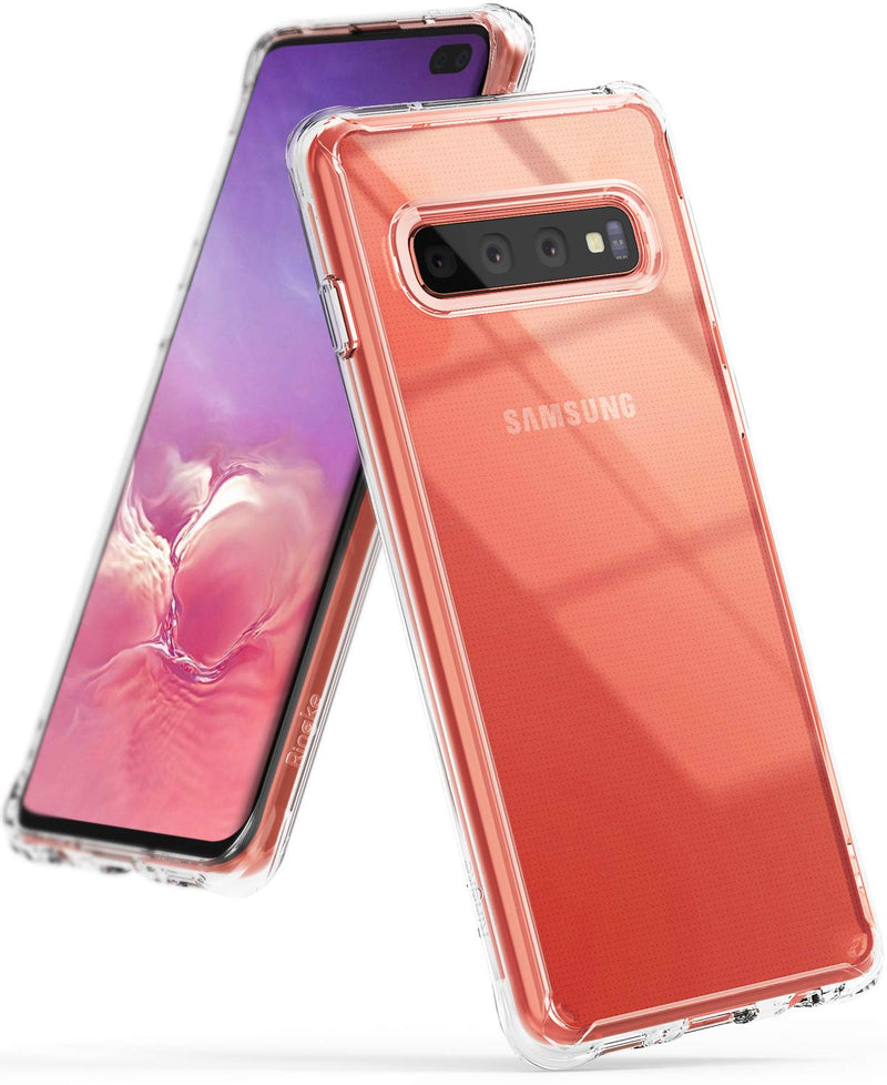 galaxy s10 plus fusion case clear