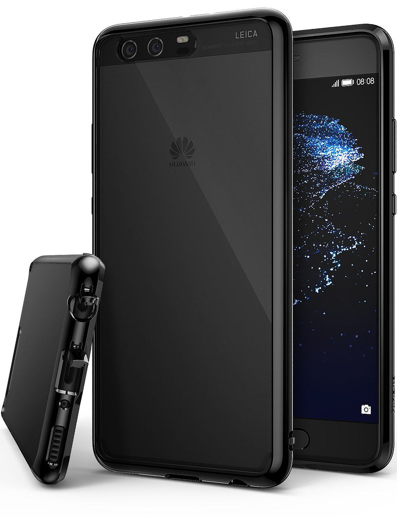 huawei p10 plus case ringke fusion case crystal clear pc back tpu bumper case ink black