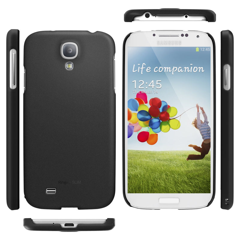Galaxy S4 Case, Ringke® [Slim] Lightweight & Thin Superior Coaring PC Hard Case