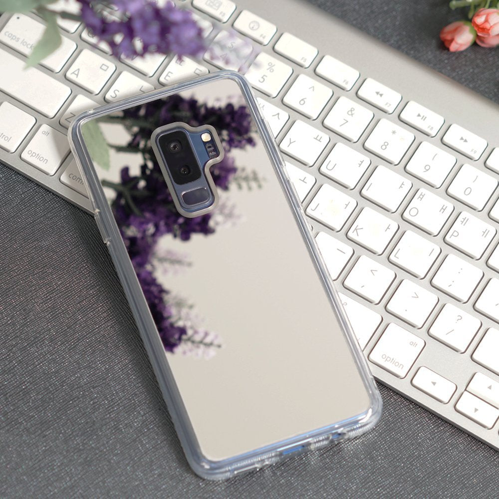 ringke mirror back cover case for galaxy s9 plus silver