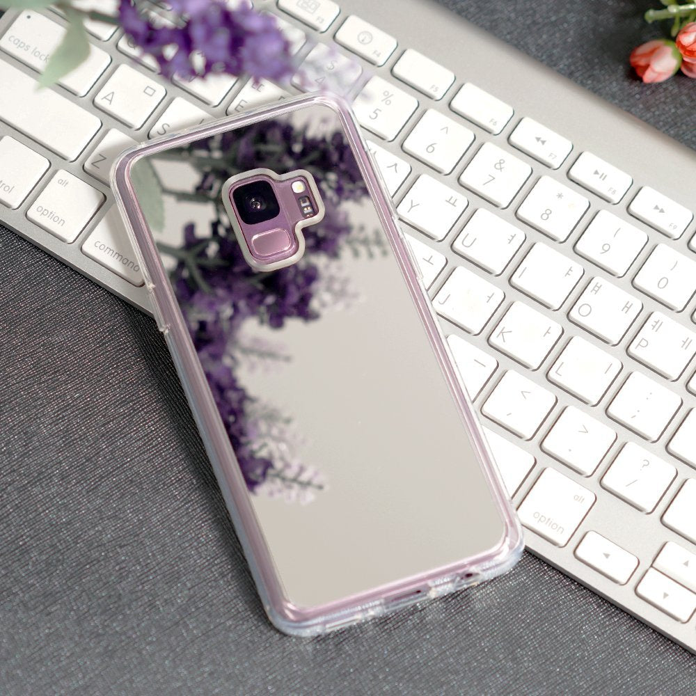ringke mirror back cover case for galaxy s9 silver