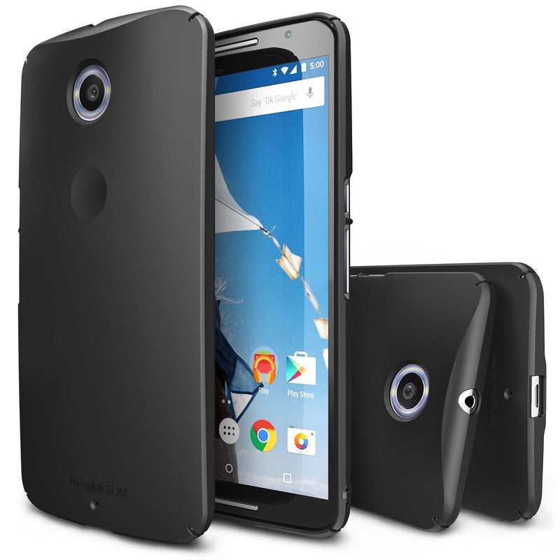 nexus 6, ringke slim case