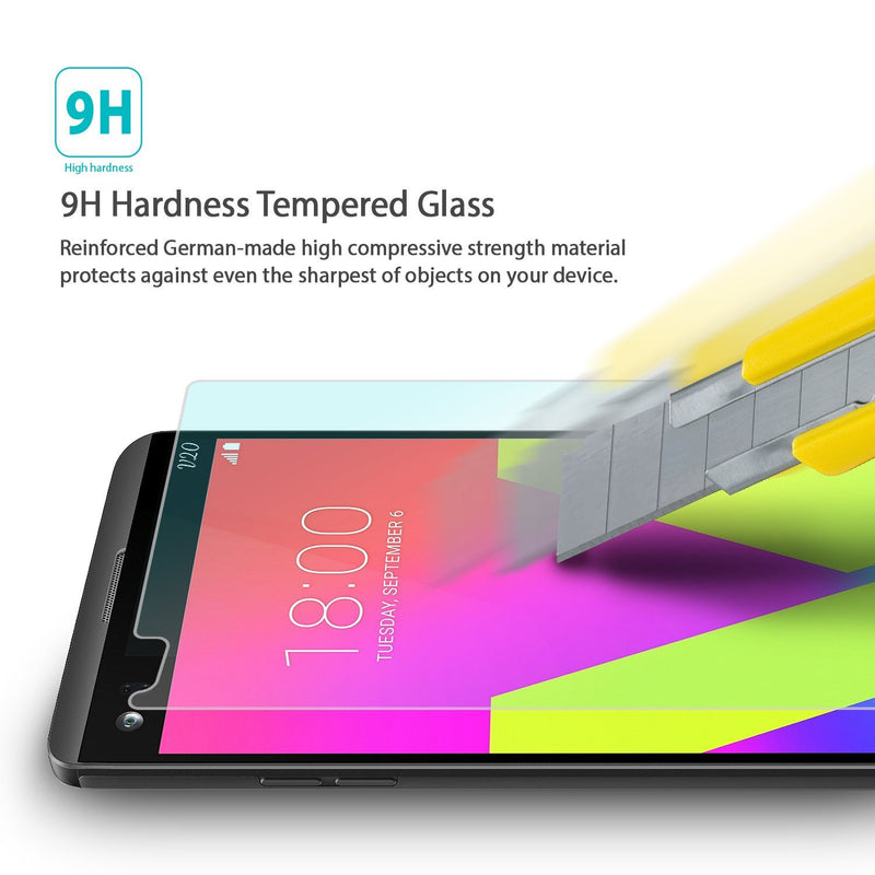 LG V20, Ringke® [INVISIBLE DEFENDER] [0.33mm] Tempered Glass Screen Protector