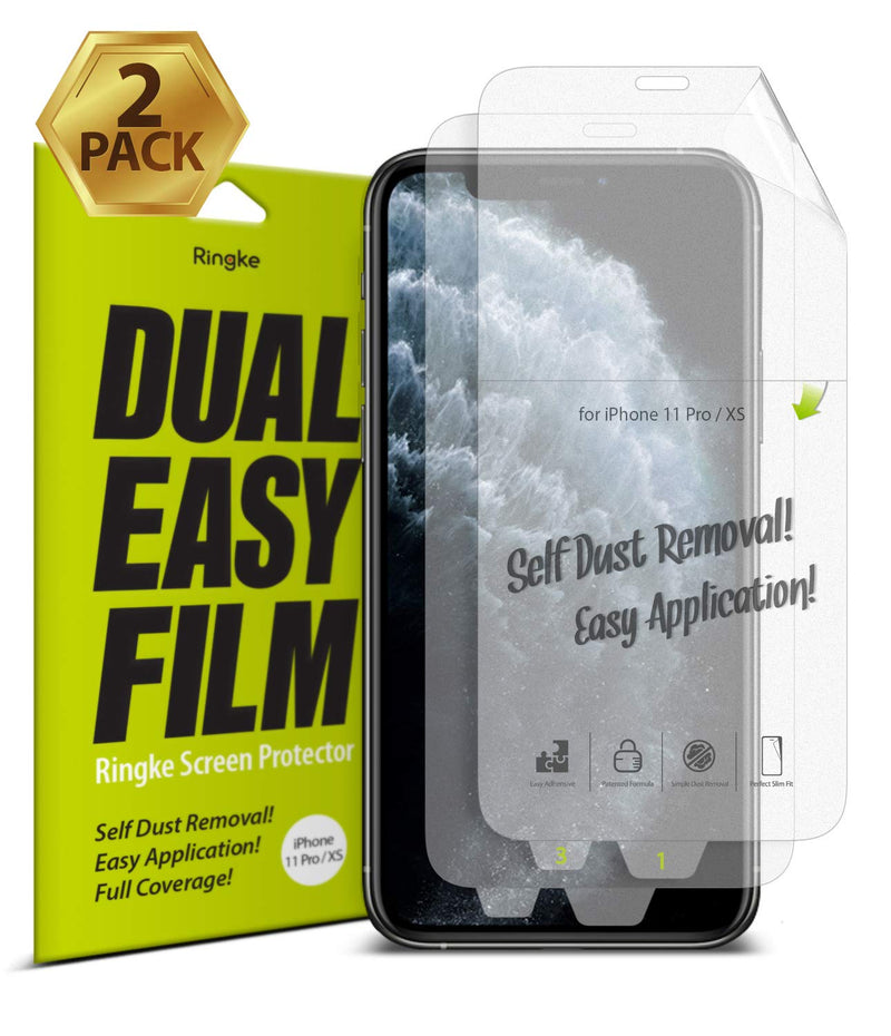 Copy of iPhone 11 Pro [Dual Easy Full Cover] Screen Protector [2 Pack]