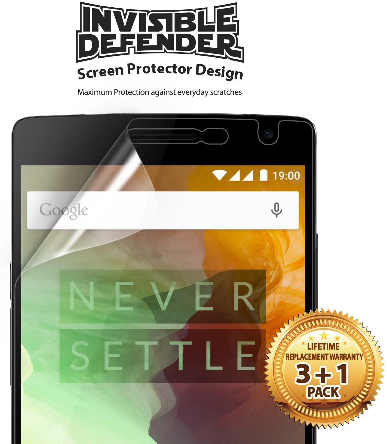 invisible defender screen protector for oneplus 2