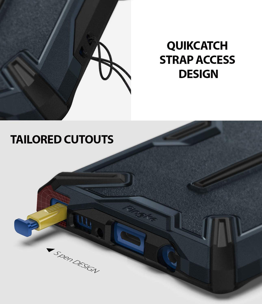 quikcatch strap access design with accurate cutouts