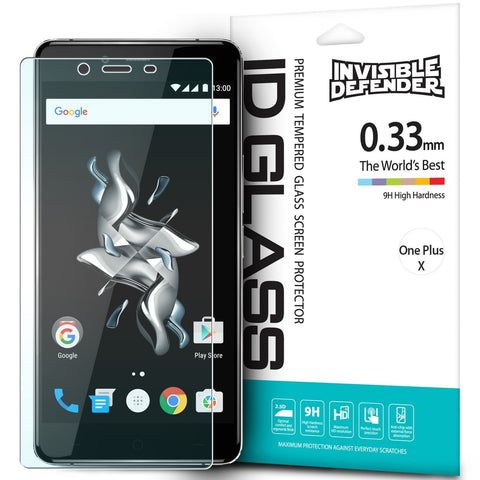 OnePlus X, Ringke®[INVISIBLE DEFENDER] Tempered Glass Screen Protector