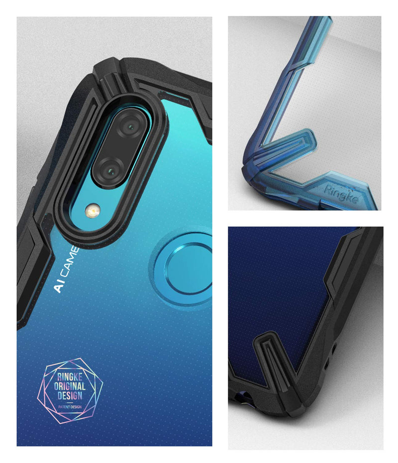 huawei p smart 2019 fusion-x case space blue