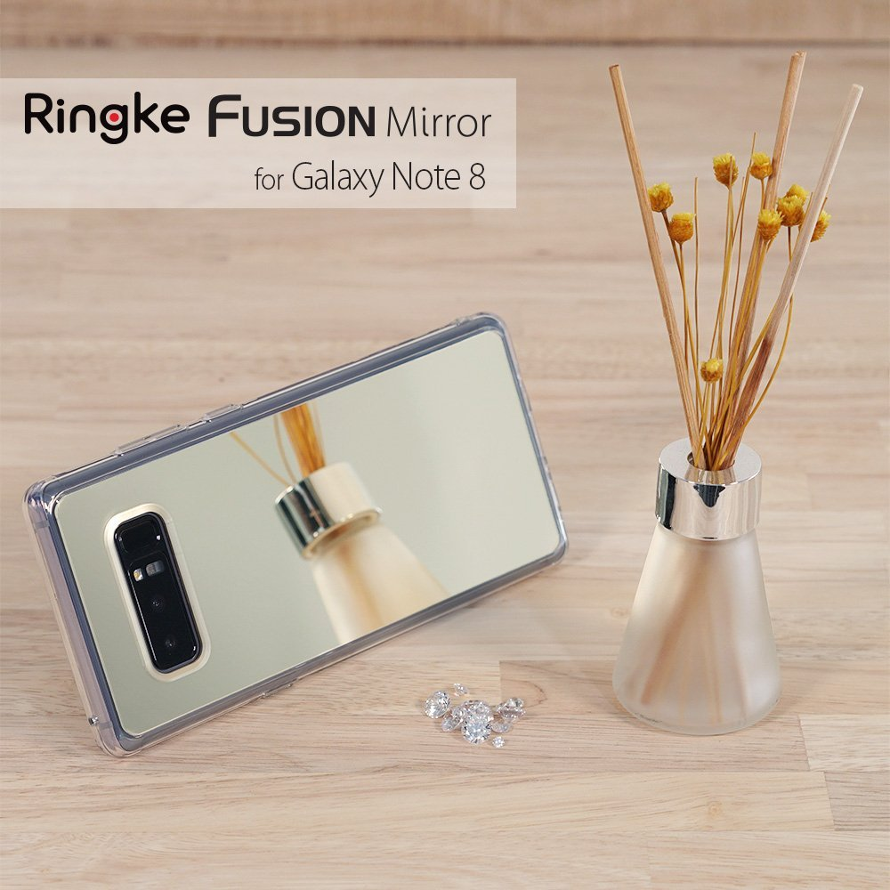 samsung galaxy note 8 ringke mirror case