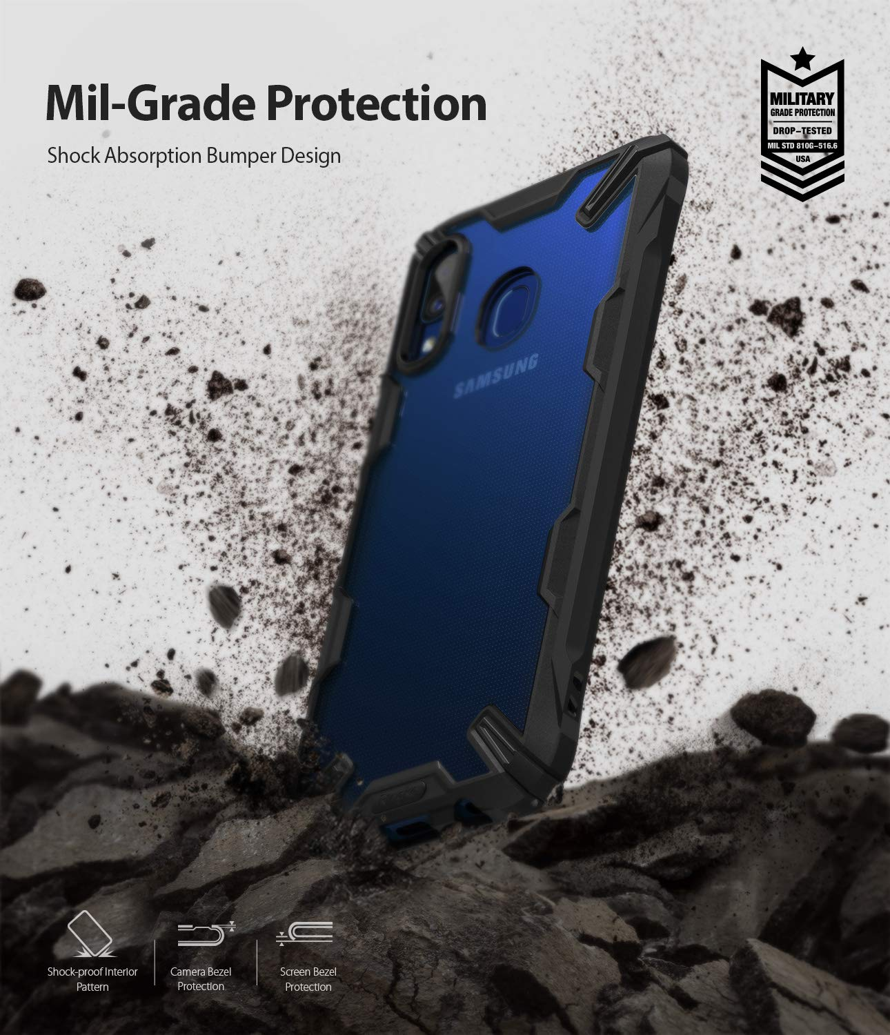 military grade drop protection