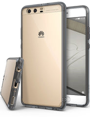 Huawei P10 Plus Case, Ringke®[FUSION] Crystal Clear PC Back TPU Bumper Case