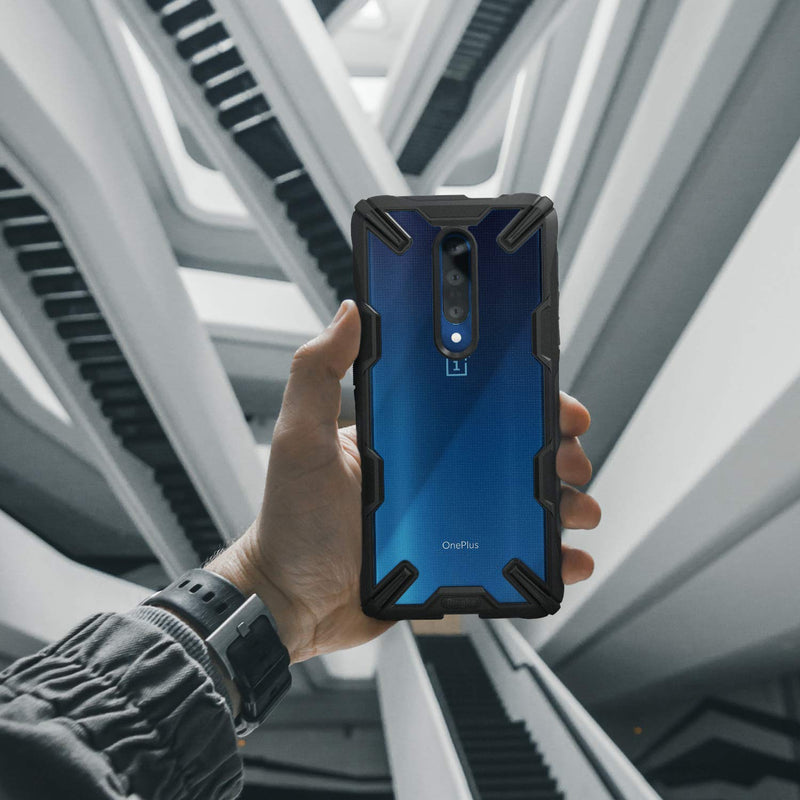 Ringke Fusion-X Designed for OnePlus 7 Pro Case Impact Resistant Protection Cover for OnePlus 7 Pro 5G