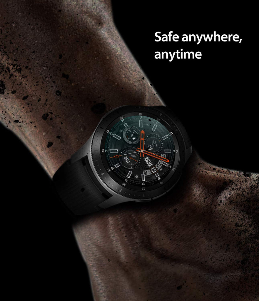 samsung galaxy watch mm gear s3 invisible defender glass tempered glass enhances protection of the display screen