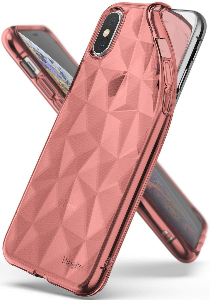 ringke air prism for iphone xs case cover main rose gold