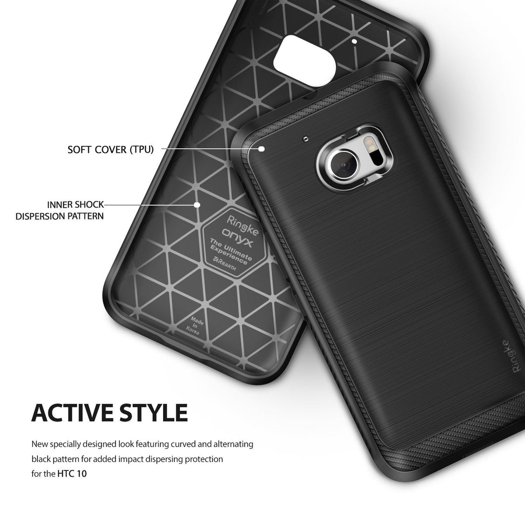 active style - soft cover TPU with inner shock dispersion pattern