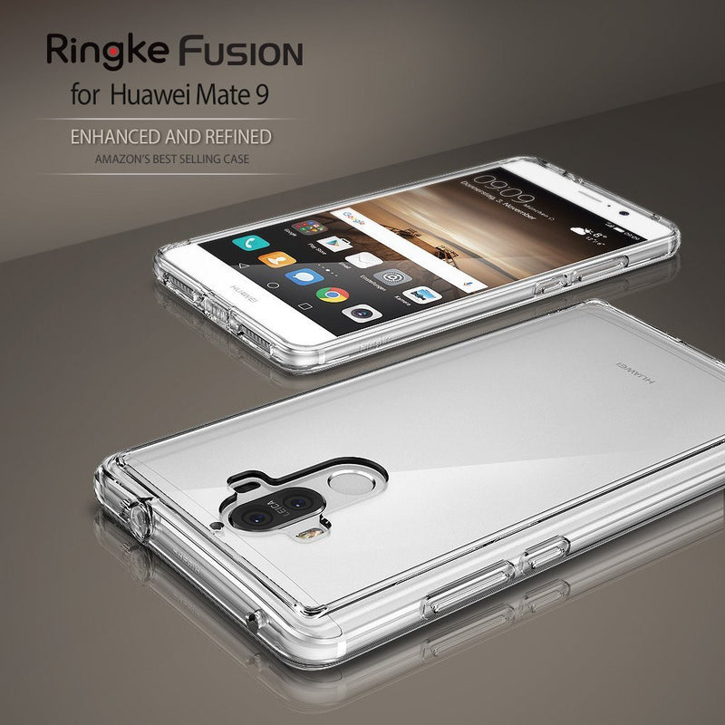 huawei mate 9 case ringke fusion case crystal clear pc back tpu bumper case
