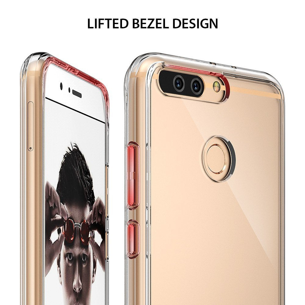 lifted bezel design to protect the screen and camera