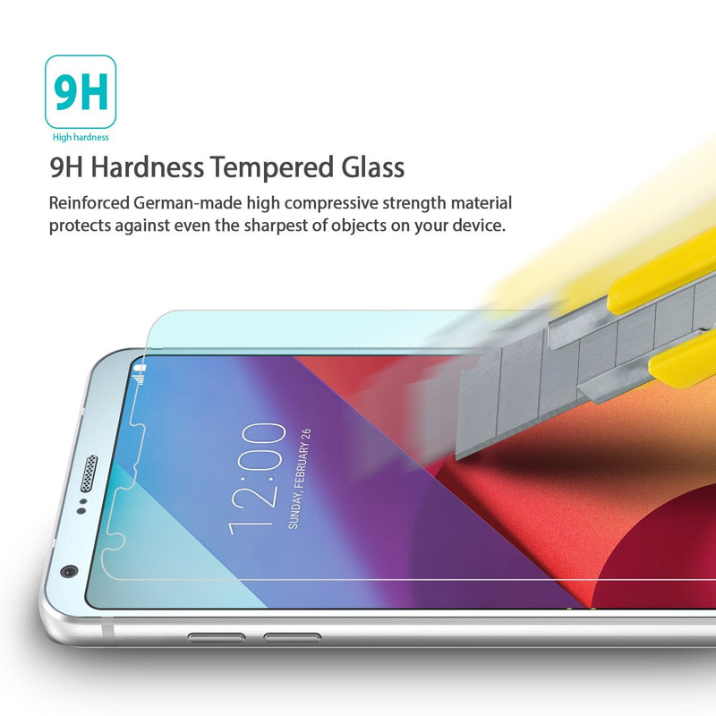 LG G6, Ringke® [INVISIBLE DEFENDER] [0.33mm] Tempered Glass Screen Protector