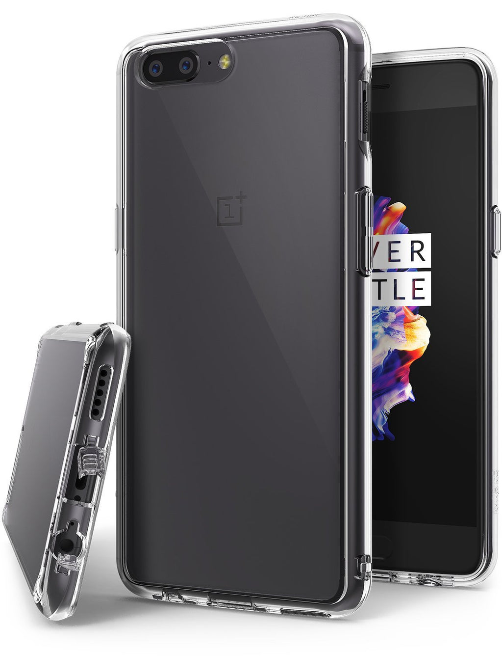 oneplus 5 ringke fusion case case clear