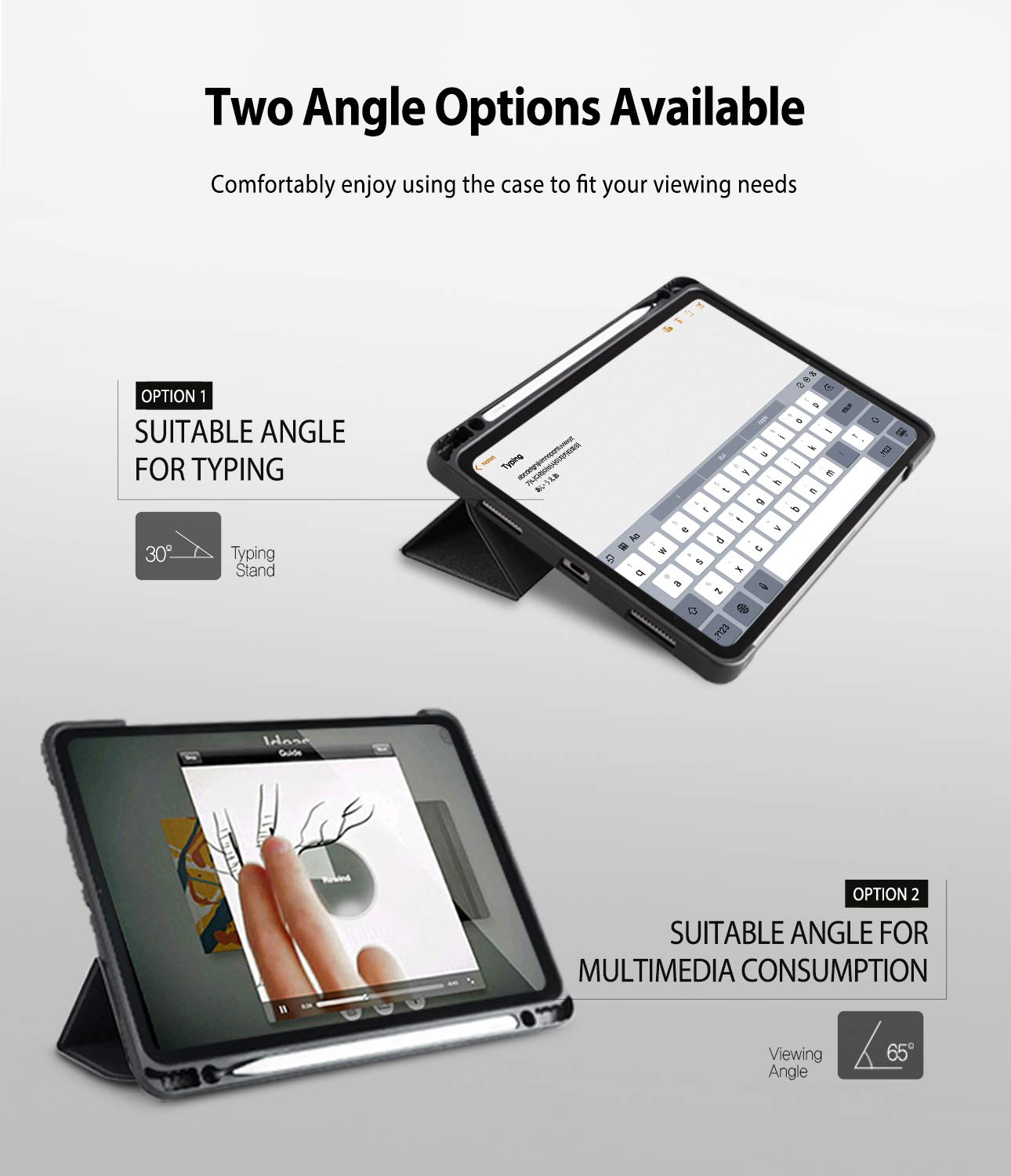 two angle options available