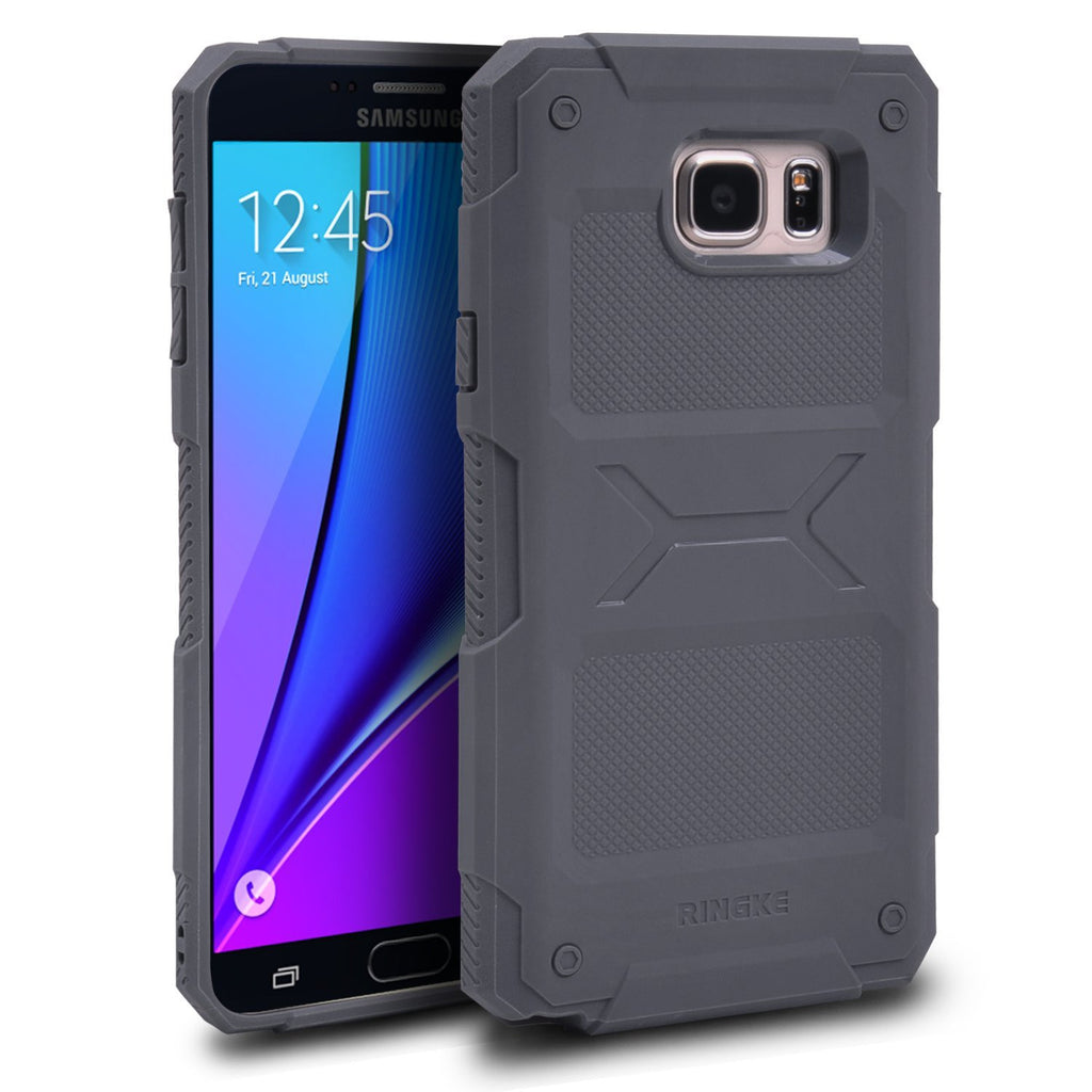 ringke rebel case for samsung galaxy note 5 gray