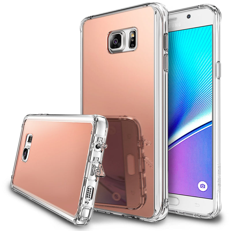 Galaxy Note 5 Case, Ringke® [FUSION MIRROR] Bright Reflection Radiant Luxury Mirror Case