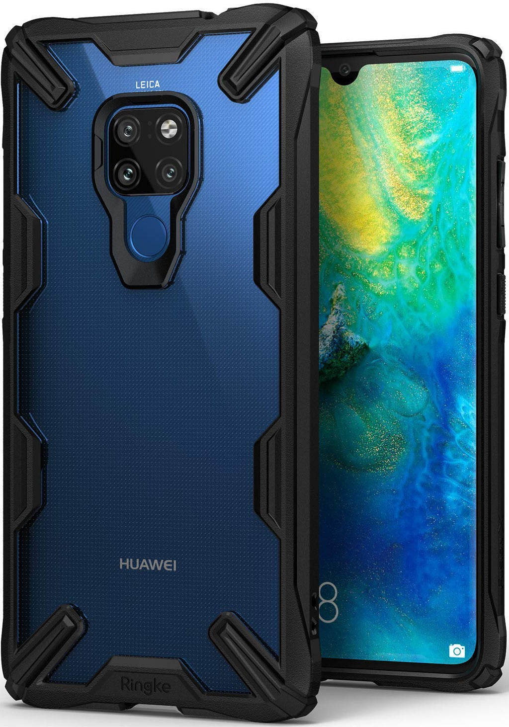 huawei mate 20 fusion-x case black