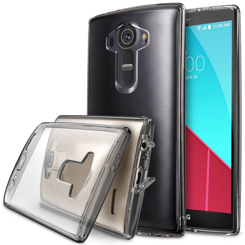 LG G4 Case, Ringke® [FUSION] Crystal Clear PC Back TPU Bumper Case