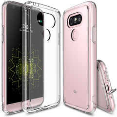 LG G5 Case, Ringke® [FUSION] Crystal Clear PC Back TPU Bumper Case