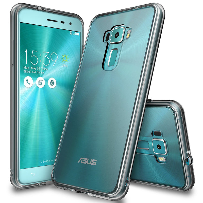 ZenFone 3 Case, Ringke® [FUSION]Crystal Clear PC Back TPU Bumper Case