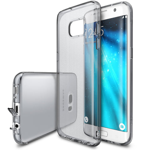 Galaxy S7 Edge Case, Ringke®[AIR] Extreme Lightweight & Thin Transparent Soft Flexible TPU Case
