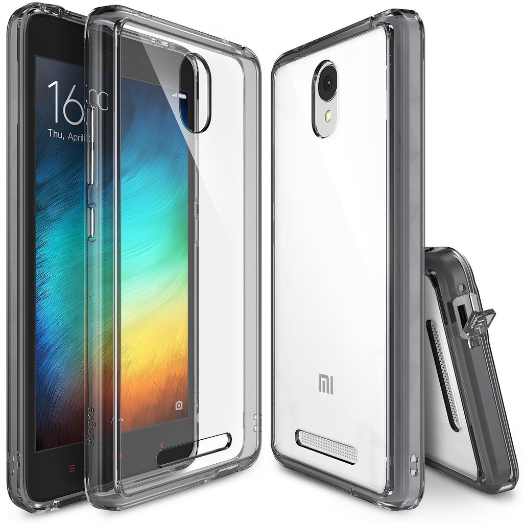 redmi note 2 case, ringke fusion case crystal clear pc back tpu bumper case