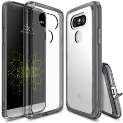 LG G5 Case, Ringke®[FUSION] Crystal Clear PC Back TPU Bumper Case