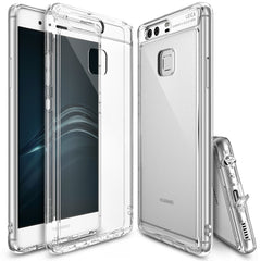 Huawei P9 Case, Ringke® [FUSION] Crystal Clear PC Back TPU Bumper Case