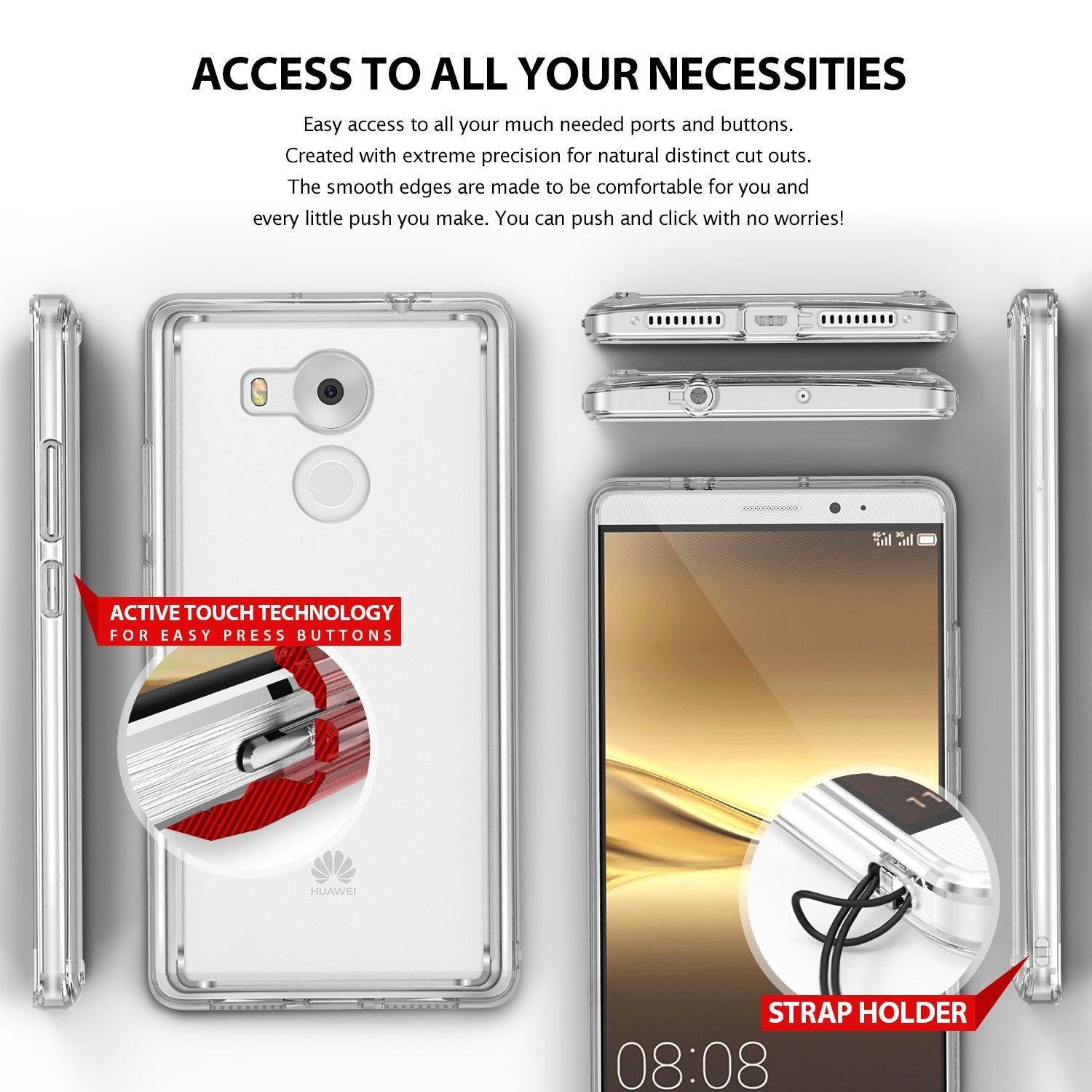 access to your necessities