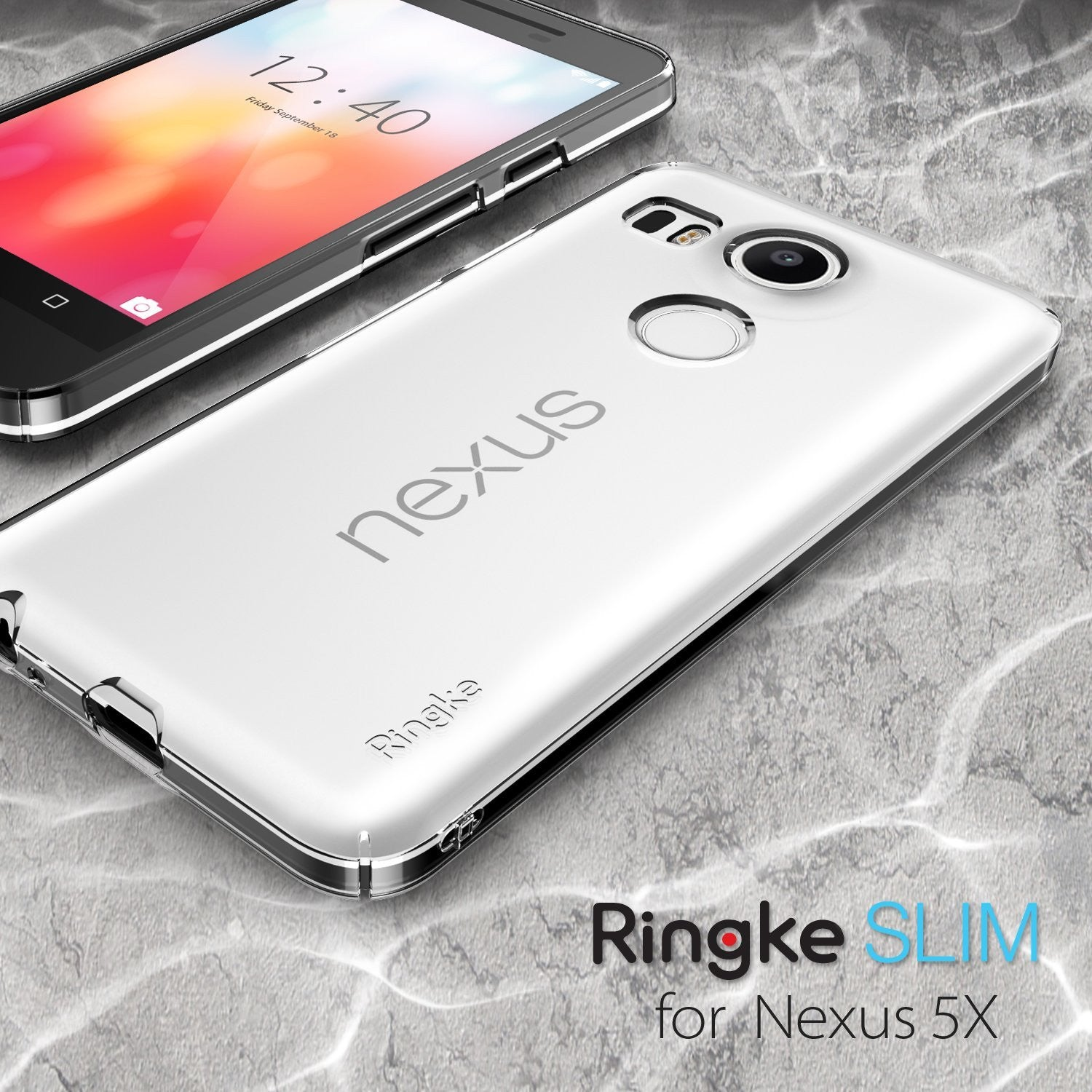 ringke slim thin lightweight hard pc back case cover for google nexus 5x main