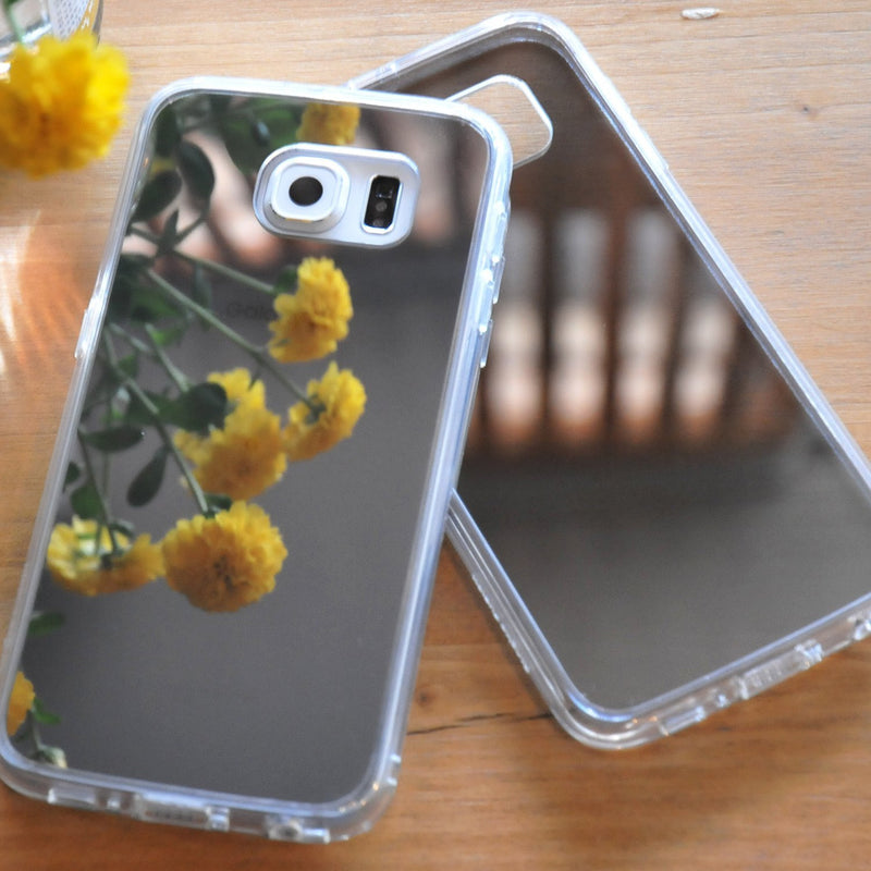 galaxy s6 fusion case mirror case
