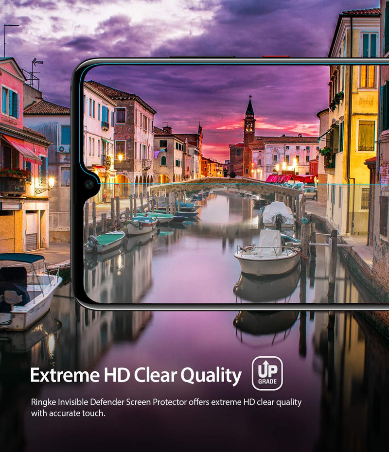 huawei mate 20 dual easy full cover screen protector 2 pack