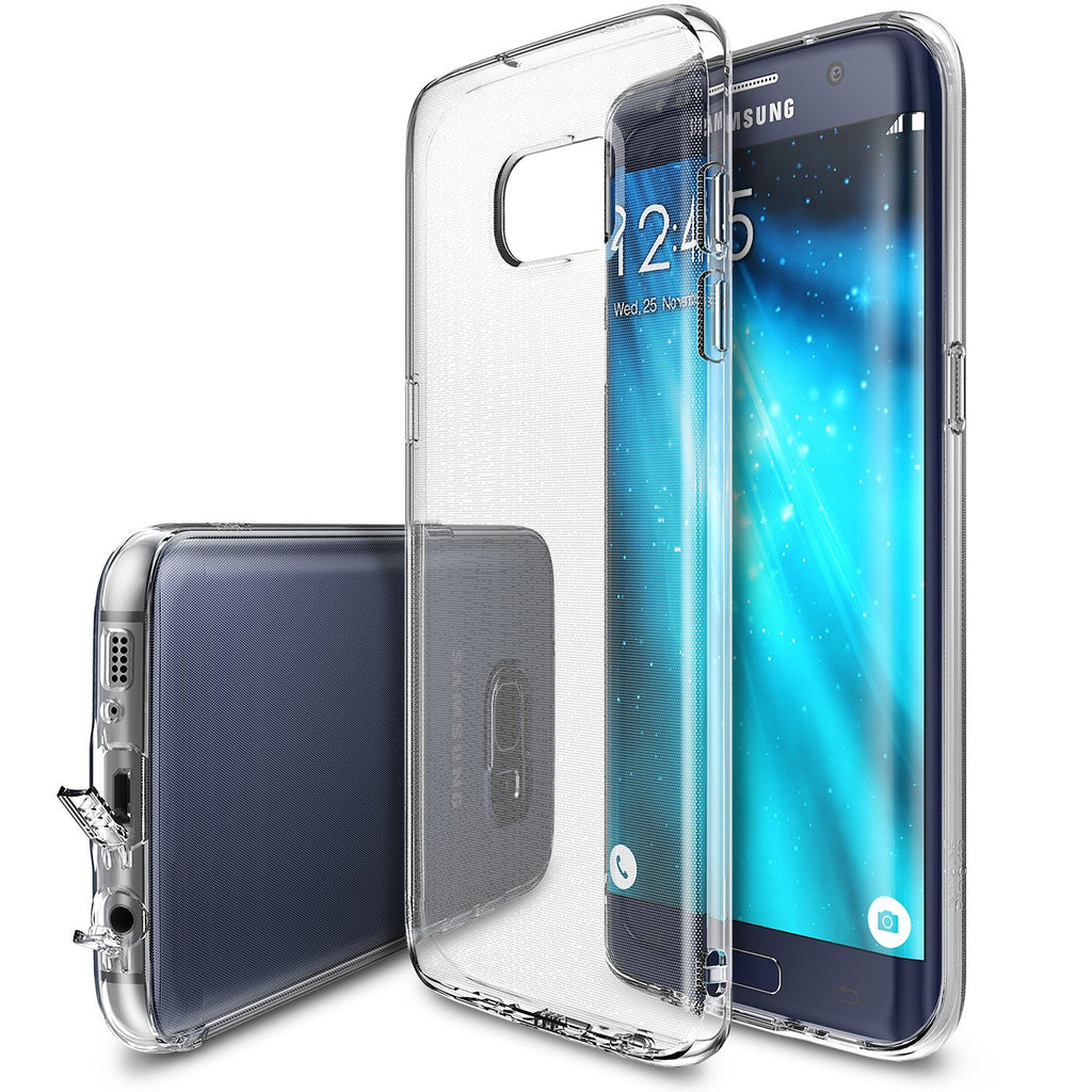 ringke air thin flexible tpu cover case for galaxy s7 edge clear